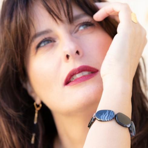 Bracelet PAOLA agate