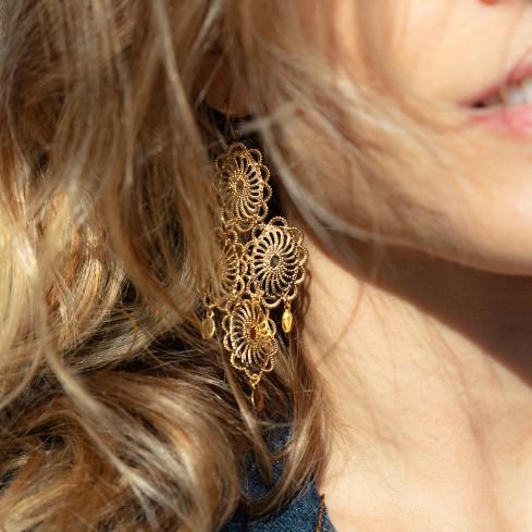 Boucles d'oreilles MARIA BETHÃNIA