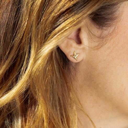 Boucles d'oreilles COLIBRI, le bijou solidaire