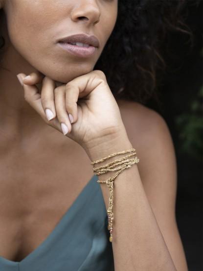 Sautoir/Collier/Bracelet NELLY