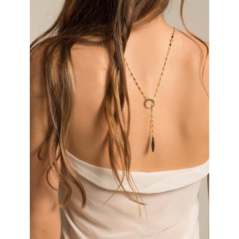 SWAN halter top Necklace