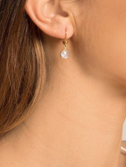 Boucles d'oreilles Lune