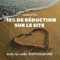 ⚡CODE PROMO⚡ Pour le dernier jour de notre mois amoureux, nous vous l'écrivons en code promo: #ONVOUSAIME  -15% toute la journée sur toute la collection de notre site www.omabloom.fr ! . #moisamoureux #codepromo