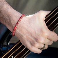Quand la bague HARRY rencontre le bracelet THÉO⭐️ Un peu de couleur pour les hommes!   #bracelethomme #braceletformen #fêtedespères #madeinmarseille