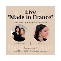 Ce soir à 18h30, on se retrouve en Instalive pour parler du Made in France!
